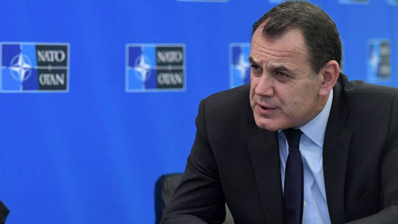 Ο υπουργός Εθνικής Άμυνας κάλεσε το ΝΑΤΟ να διαθέσει πρόσθετες δυνάμεις στο Αιγαίο