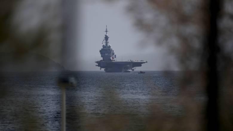 Κορωνοϊός: Νοσεί πάνω από το 1/3 των ναυτών του αεροπλανοφόρου «Σαρλ ντε Γκολ»