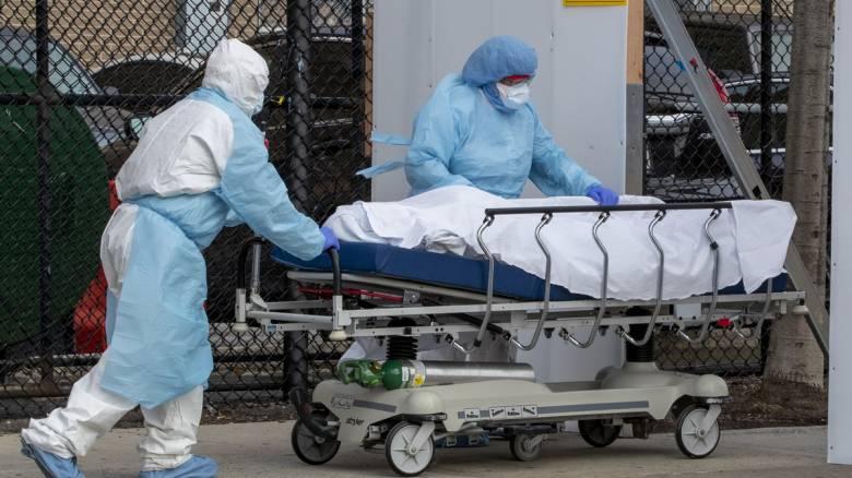 Κορωνοϊός: Νέο αρνητικό ρεκόρ στις ΗΠΑ - 2.569 νεκροί μέσα σε 24 ώρες