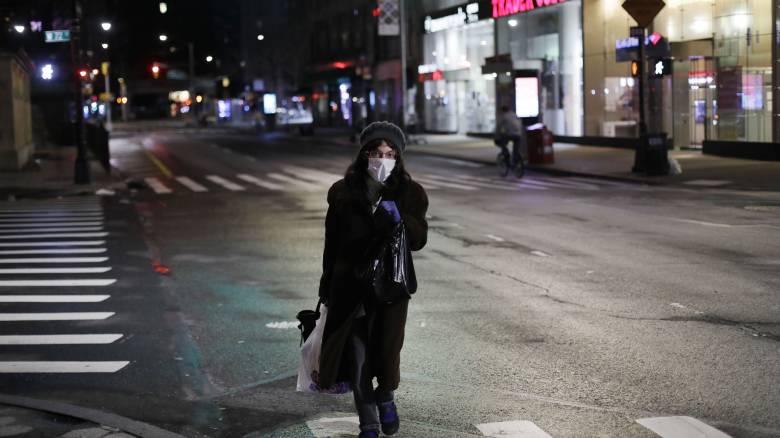 Κορωνοϊός: Νέα παράταση των μέτρων καραντίνας στη Νέα Υόρκη