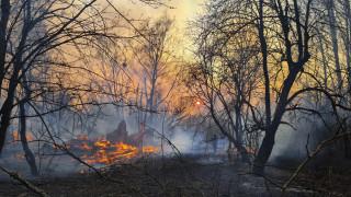 Νέος συναγερμός στην Ουκρανία: Αναζωπυρώθηκε η φωτιά στο Τσερνόμπιλ