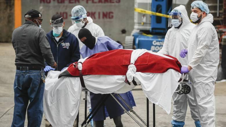 Κορωνοϊός: Δραματικές ώρες στις ΗΠΑ - 4.491 θάνατοι μέσα σε 24 ώρες