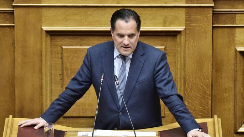 Άδ. Γεωργιάδης: Η κυβέρνηση επεξεργάζεται όλα τα σενάρια για δυναμική επανεκκίνηση της οικονομίας