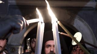 Άγιο Φως: Live από τον Πανάγιο Τάφο η τελετή αφής