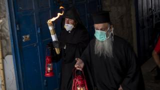 Άγιο Φως: Εικόνες από τον Πανάγιο Τάφο