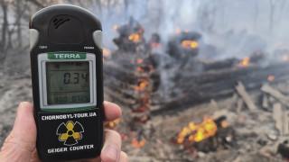Φωτιά Τσερνόμπιλ: Αυξημένα επίπεδα ραδιενέργειας και ατμοσφαιρικής ρύπανσης στο Κίεβο