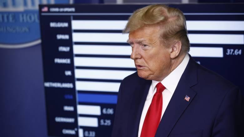 Κορωνοϊός: Ο Τραμπ προειδοποιεί την Κίνα με «συνέπειες»