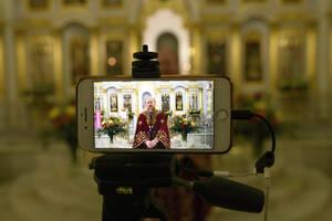 Ένα διαφορετικό Πάσχα υπό το φόβο του Covid-19 έζησαν και οι Χριστιανοί της Ρωσίας
