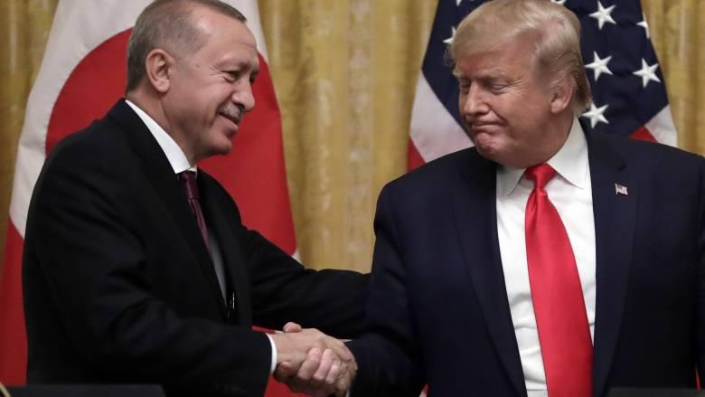 Κορωνοϊός: Τραμπ και Ερντογάν συμφώνησαν για στενή συνεργασία κατά της πανδημίας