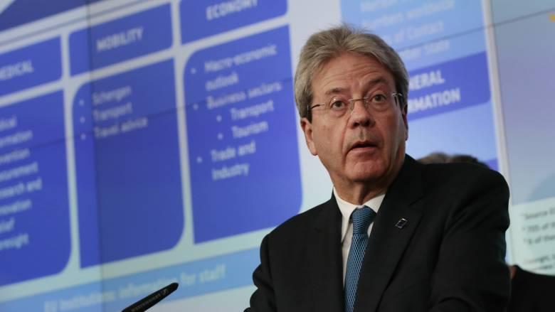 Τζεντιλόνι: Για την αντιμετώπιση της κρίσης κορωνοϊού ενδέχεται να χρειαστούν 1,5 τρισ. ευρώ