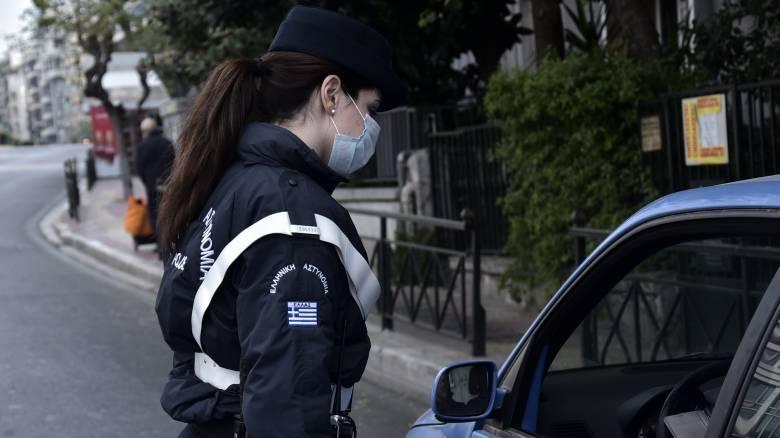 Απαγόρευση κυκλοφορίας: Συνεχίζονται οι έλεγχοι της ΕΛ.ΑΣ. – «Τσουχτερά» πρόστιμα και σήμερα
