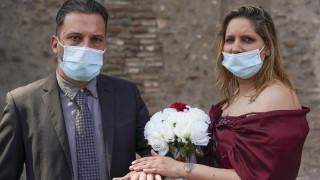 Κορωνοϊός: Τα ζευγάρια στη Νέα Υόρκη μπορούν πλέον να παντρεύονται online