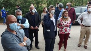 Κορωνοϊός: Στο Κρανίδι Τσιόδρας και Χαρδαλιάς μετά το θετικό κρούσμα σε δομή προσφύγων