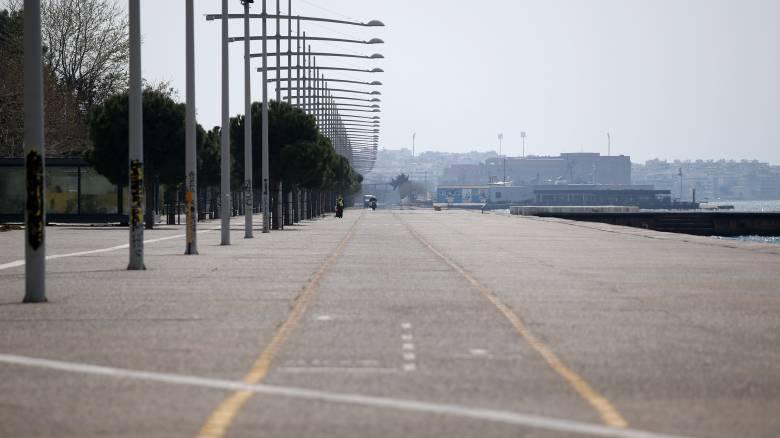 Κορωνοϊός: Κλειστή και με νέο ωράριο μέχρι τις 27 Απριλίου η Νέα Παραλία Θεσσαλονίκης