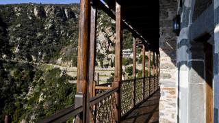 Κορωνοϊός: Με περιορισμούς έγινε η λιτανεία της εικόνας «Άξιον Εστί» στο Άγιο Όρος
