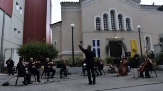 Η ορχήστρα σύγχρονης μουσικής της ΕΡΤ έκανε συναυλία στον Ευαγγελισμό