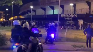 Θεσσαλονίκη: Ένταση μεταξύ οπαδών του ΠΑΟΚ και της αστυνομίας στην Τούμπα