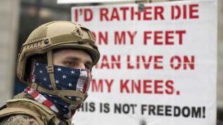Κορωνοϊός: Δεκάδες διαδηλώσεις κατά του lockdown παρά τις προειδοποιήσεις για καταστροφή