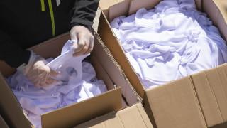 Κορωνοϊός: Δωρεά από την Κίνα 20.000 μασκών για τους μετανάστες
