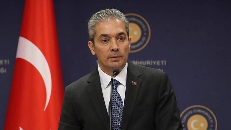 Τουρκικό ΥΠΕΞ: Η Ελλάδα αγνοεί σκοπίμως τα δικαιώματά μας στην ανατολική Μεσόγειο