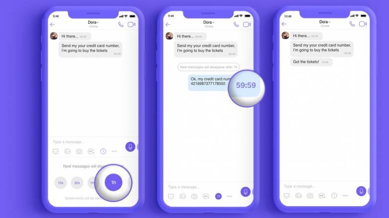 Viber: Αυτό το μήνυμα θα… αυτοκαταστραφεί