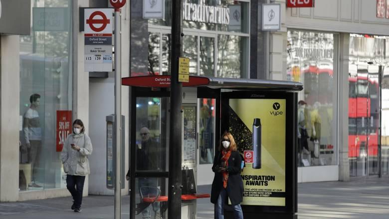 Κορωνοϊός – Βρετανία: Το 24% των επιχειρήσεων «πάγωσε» τις δραστηριότητες λόγω lockdown