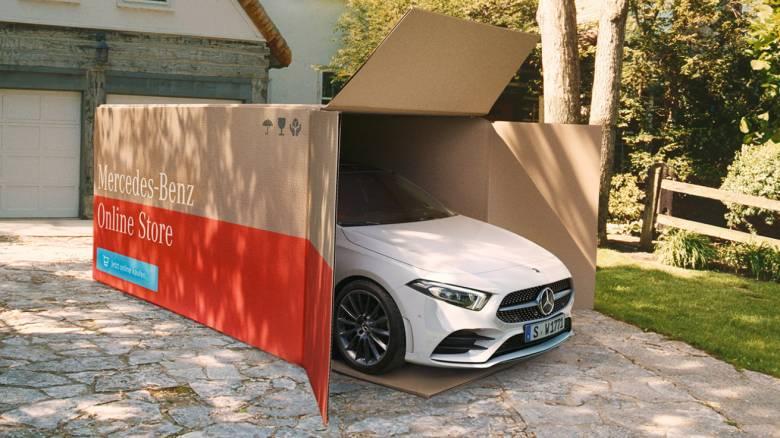 H Mercedes ξεκινά στη Γερμανία, λόγω κορωνοϊού, την παράδοση καινούργιων αυτοκινήτων στο σπίτι
