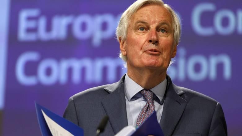 Brexit - Μπαρνιέ: Καμία πρόοδος στις διαπραγματεύσεις Βρυξελλών-Λονδίνου