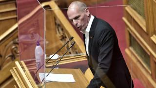 Βαρουφάκης από το βήμα της Βουλής: Θα γυρίσω στην Αίγινα