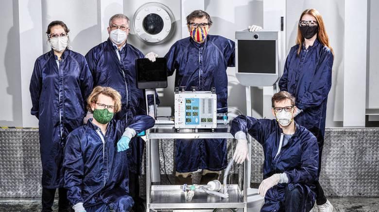 Επιστήμονες της NASA έφτιαξαν τον πιο... διαστημικό αναπνευστήρα