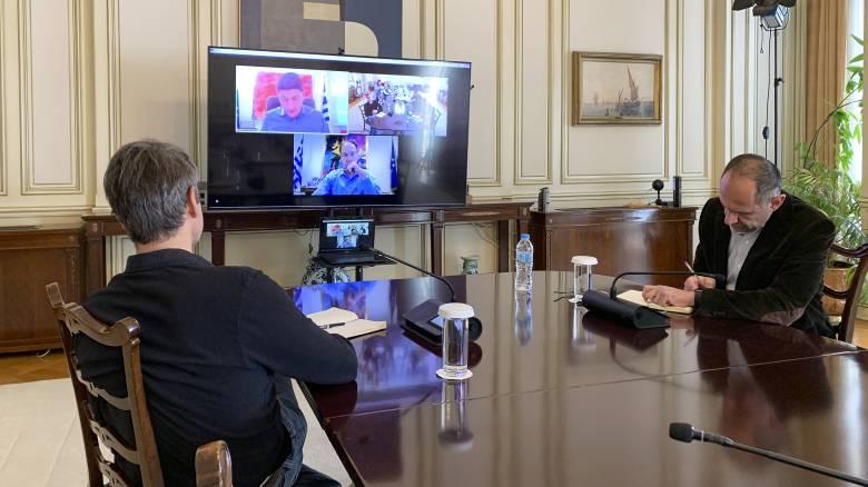 Τηλεδιάσκεψη Μητσοτάκη για την επανεκκίνηση των αθλητικών δραστηριοτήτων