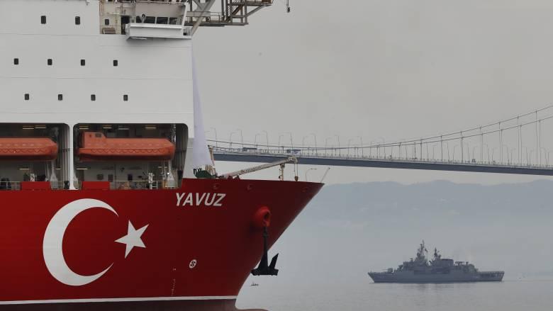Το «Γιαβούζ» ξεκίνησε τις γεωτρήσεις δυτικά της Κύπρου