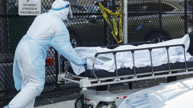 Κορωνοϊός στις ΗΠΑ: 2.494 νεκροί σε ένα 24ωρο - 53.511 νεκροί συνολικά