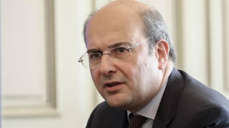 Χατζηδάκης: Με το περιβαλλοντικό ν/σ η Ελλάδα θα γίνει σημείο αναφοράς στην προσέλκυση επενδύσεων