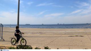 Κορωνοϊός: Ανοίγει η Νέα Παραλία Θεσσαλονίκης