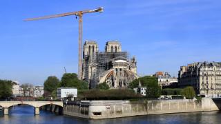 Κορωνοϊός - Γαλλία: Άνοιξαν τα εργοτάξια στην Παναγία των Παρισίων μετά από ενάμιση μήνα
