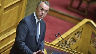 Σταϊκούρας για Τσακαλώτο: Δεν θα παρασυρθούμε από την πολιτική «τρικυμία» του