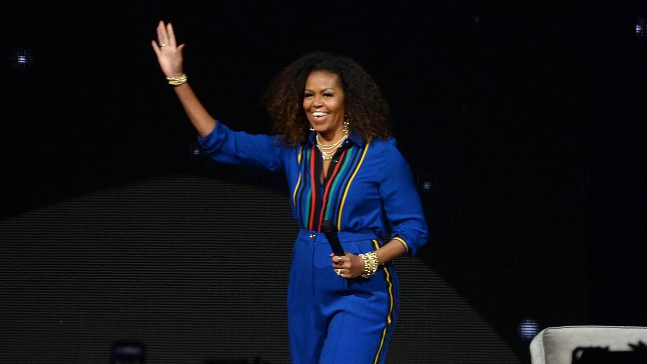 Μισέλ Ομπάμα: Η πιο δημοφιλής πρώην πρώτη κυρία των ΗΠΑ γίνεται ντοκιμαντέρ στο Netflix (vid)