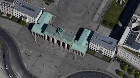 Κορωνοϊός: Το σχεδόν άδειο Βερολίνο από ψηλά
