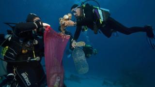 Πρωτοποριακή τεχνική ανίχνευσης πλαστικών στη θάλασσα με δορυφορικά μέσα