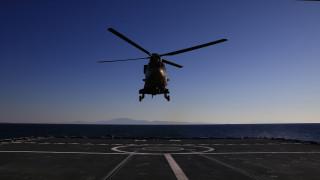 Αγνοείται η τύχη ελικοπτέρου του ΝΑΤΟ ανοιχτά της Κεφαλονιάς