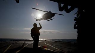Συνετρίβη το ελικόπτερο του ΝΑΤΟ δυτικά της Κεφαλονιάς