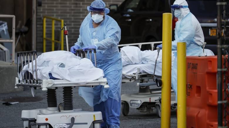 Κορωνοϊός: Νέα αλματώδης αύξηση των νεκρών στις ΗΠΑ