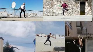 Σπουδαστές της Λυρικής χορεύουν online σε ταράτσες, σε πάρκα, στο σαλόνι τους (vid)
