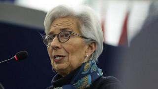 Λαγκάρντ: Ύφεση μεταξύ 5% έως 12% στην ευρωζώνη το 2020
