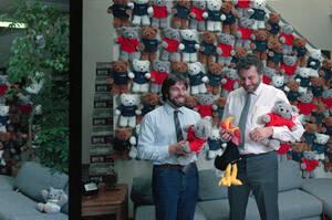 1986, Καλιφόρνια.  Αριστερά, ο Στιβ Βόσνιακ, συνιδρυτής της Apple και δημιουργός του πρώτου υπολογιστή της εταιρείας. Δεξιά, ο Νόλαν Μπουσνέλ, ιδρυτής της εταιρείας Atari Inc. Οι δύο τους αποφάσισαν να ενώσουν τις δυνάμεις και τις ικανότητές τους, για τη