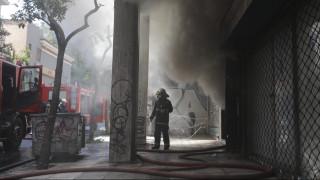 Συναγερμός στην Πυροσβεστική: Φωτιά σε αποθήκη στο Μεταξουργείο