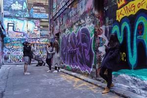 Hosier Lane, Μελβούρνη, Αυστραλία