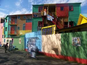 Caminito, Λα Μπόκα, Μπουένος Άιρες, Αργεντινή