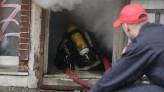 Υπό έλεγχο τέθηκε η φωτιά σε αποθήκη στο Μεταξουργείο
